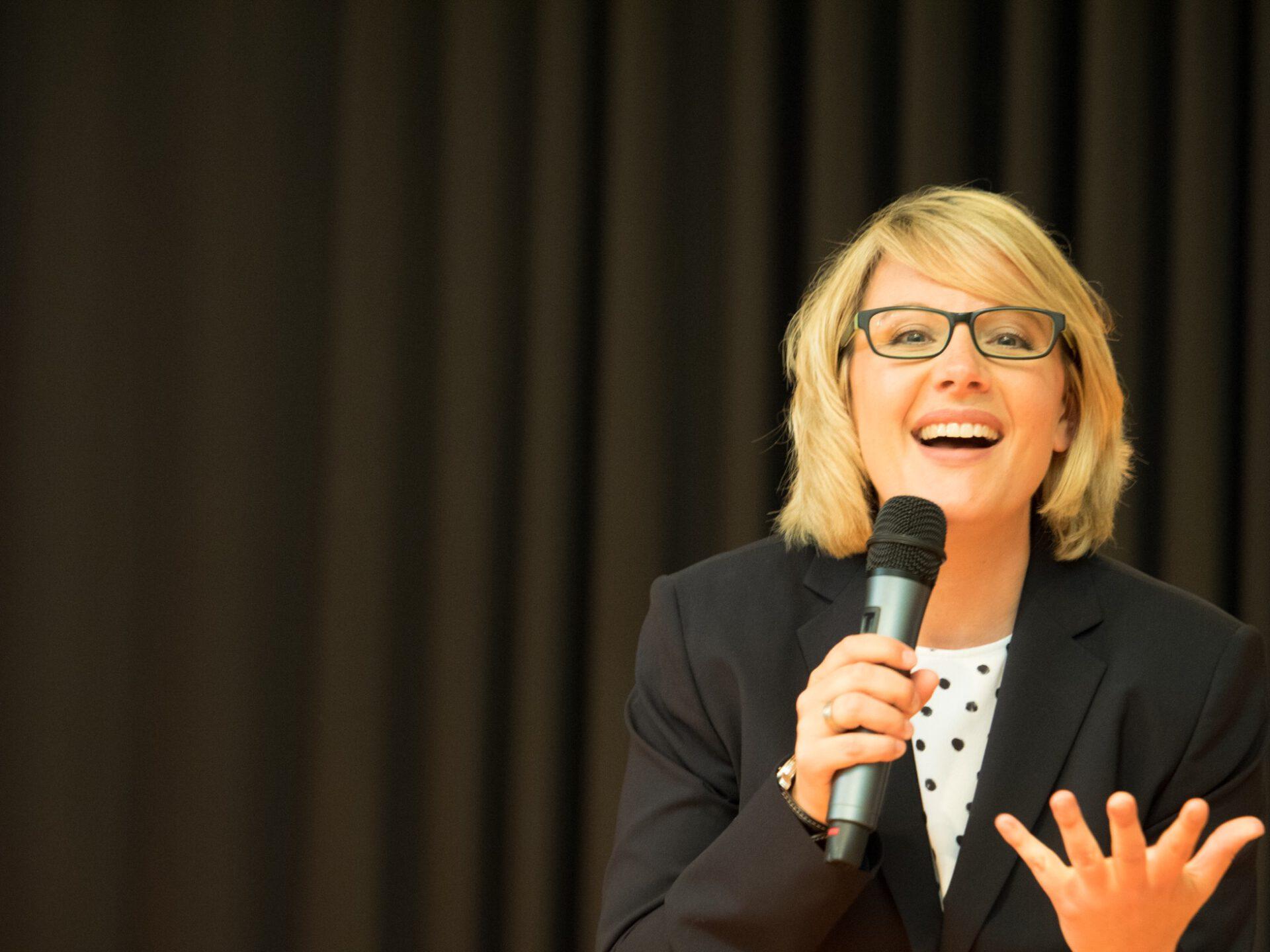 Katja Voigt - Moderatorin und Trainerin