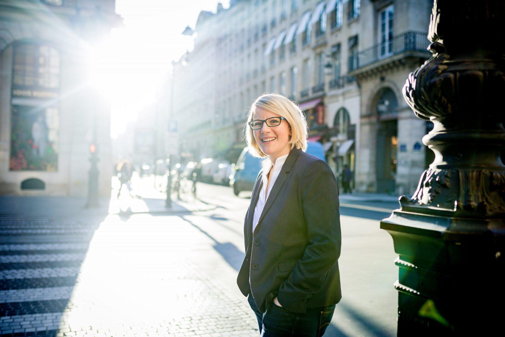 Katja Voigt in Paris